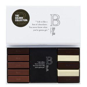BbyB Chocolates Mix 10 Gold Chocolate 110g