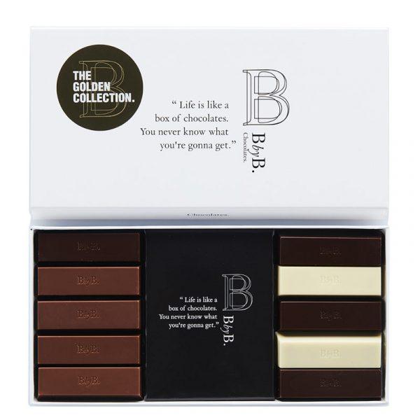 Chocolate Mix 10 Ouro BbyB Chocolates 110g