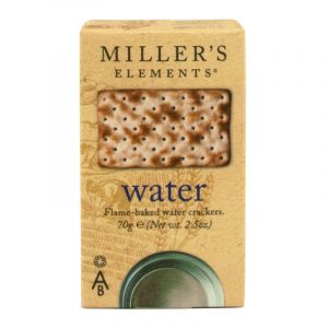Crackers de Água Millers Elements Artisan Biscuits 70g