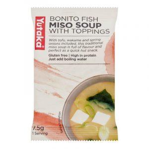 Sopa Instantânea Miso com Bonito Yutaka 7