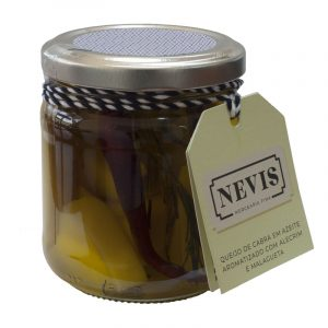 Nevis Goat Cheese in Olive Oil Flavored with Rosemary and Chilli 200g