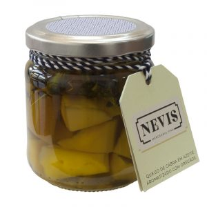 Nevis Goat Cheese in Olive Oil Flavored with Oregano 190g