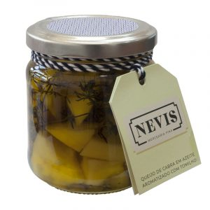 Nevis Goat Cheese in Olive Oil Flavored with Thyme 190g