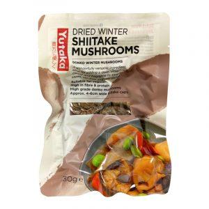 Cogumelos Shiitake Secos Yutaka 30g