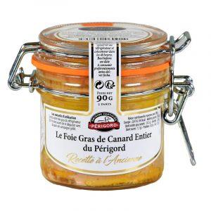 Foie Gras Inteiro de Pato du Périgord IGP Valette 90g