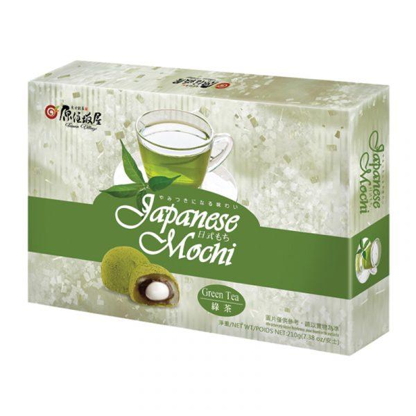 Mochi com Recheio de Chá Verde Taiwan Village 210g