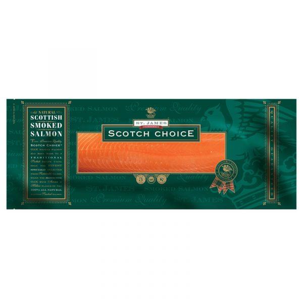 Filete de Salmao Fumado com Pele Scotch Choice St. James Smokehouse 1-1