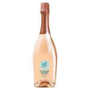Cipriani Zero Zero Alcohol Free Rose Sparkling Wine 750ml